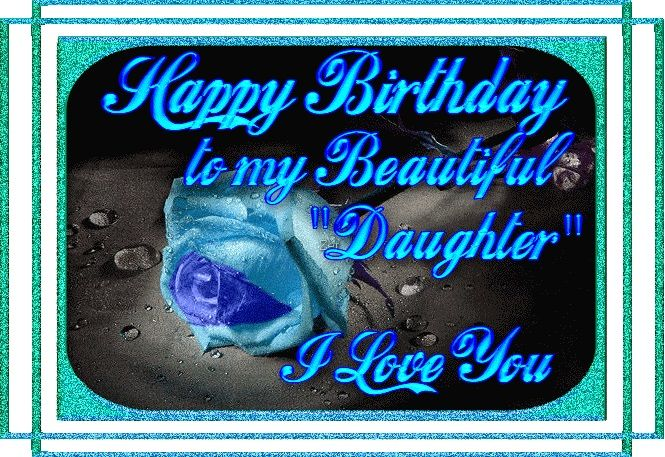 Happy Birthday Greeting Cards for Daughter