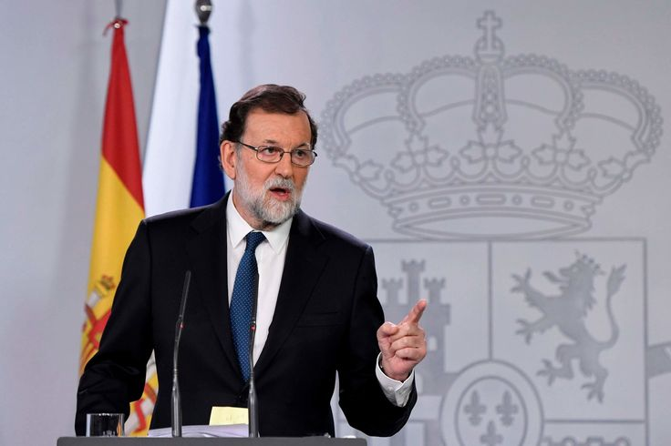 Spain Will Remove Catalan Leader Prime Minister Announces
