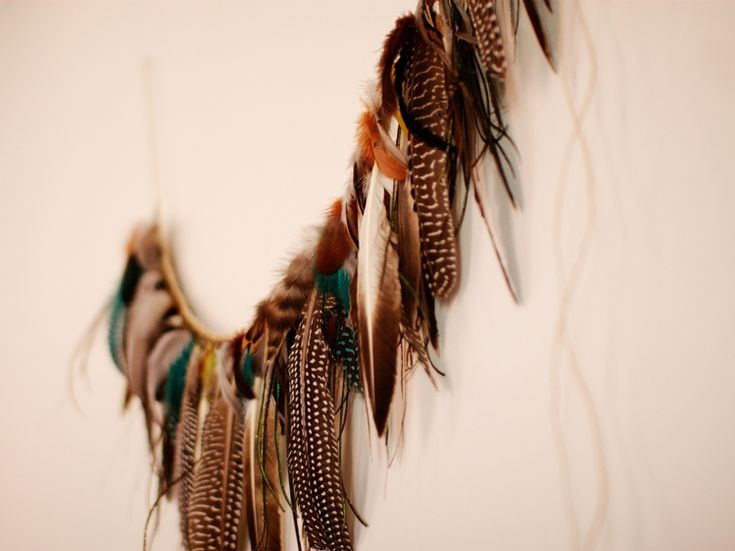 Make This - FeatherGarland - Luxe DIY - How Did You Make This?