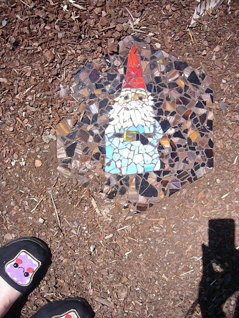 mosaic stepping stone