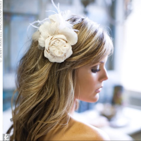 Bridesmaid hair style...super romantic!