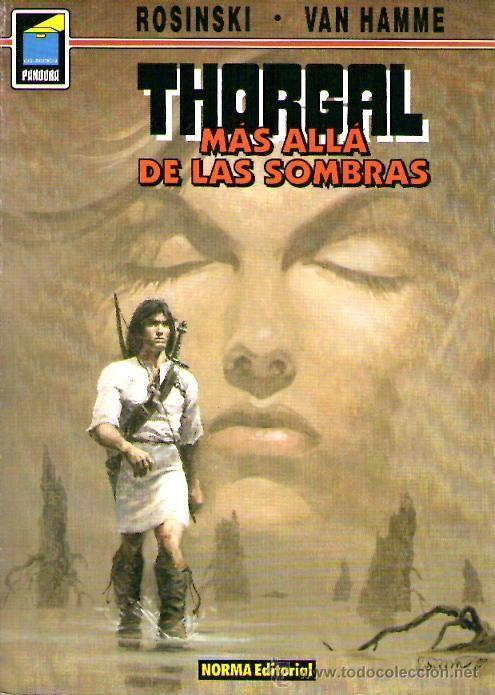 """""""Thorgal: Más allás de las sombras"""" de Rosinski y Van Hamme. Ficha elaborada por Pablo Hernández."""
