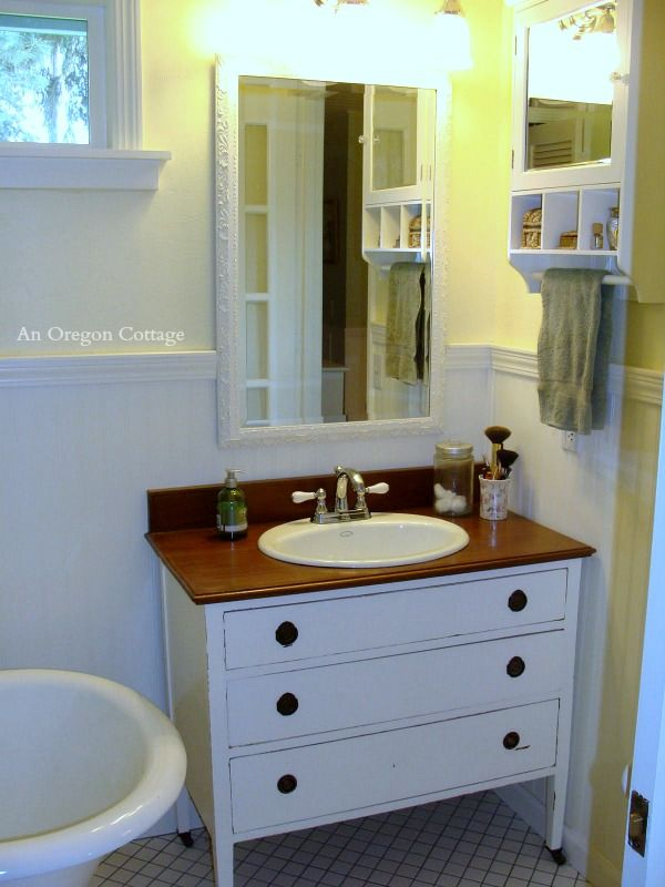 9 Best Dressers Repurposed Images On Pinterest Bath Vanities Bathroom Stuff And Bedroom