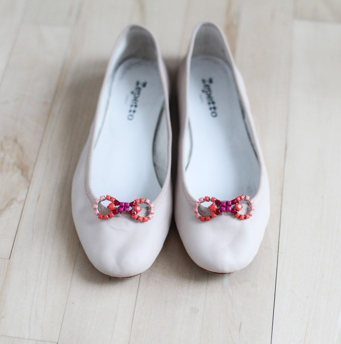 easy way to spruce up your flats for spring!: Nail Polish, Bow Clip, Vintage Rhinestone, New Life, Shoe Clips, Diy, Ballet Shoe