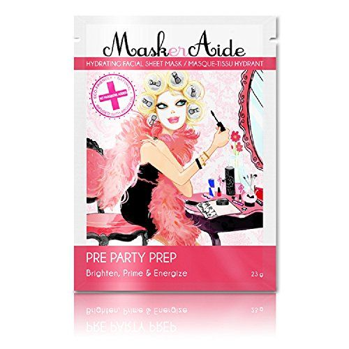 MaskerAide PreParty Prep Facial Sheet Mask >>> You can find out more details at the link of the image.