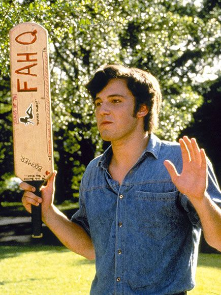 Le jeune Ben Affleck en bizuteur violent (Dazed and confused)