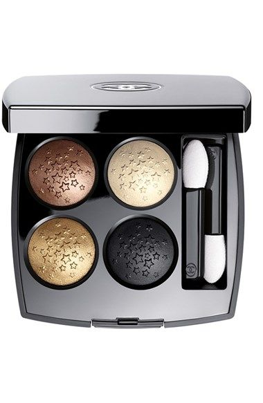 This quad contains every metallic shadow you could possibly want, tucked away inside Chanel's black lacquer casing. Plus, the pigment is etched with teeny-tiny stars. It's almost too pretty to use. Almost.