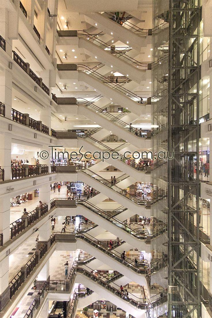 Shopping in Kuala Lumpur makes you dizzy.