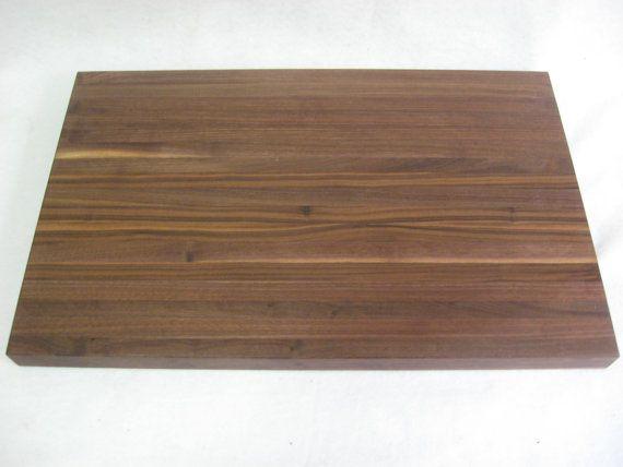 Jumbo Black Walnut  Cutting Board by KentuckyHardwoods on Etsy, $129.00