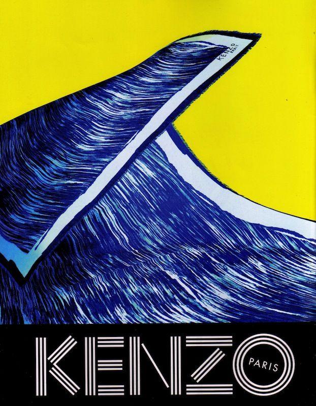 Le surréalisme inspire Kenzo | Pub en stock