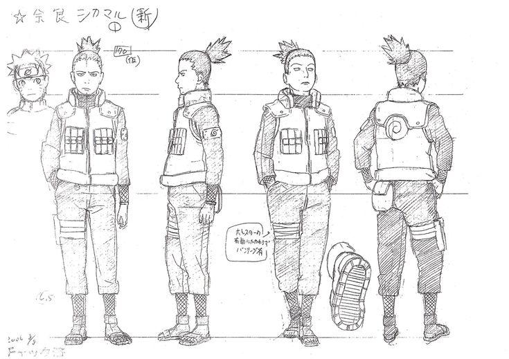 Naruto Character Design Sheet : Best images about masashi kishimoto naruto art on