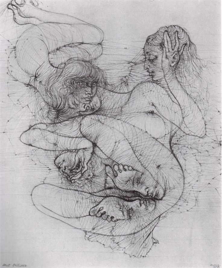 Illustration by Hans Bellmer from L'Anatomie de l'Image (Anatomy of the Image)