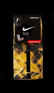 "Custom Elites Everyone's #1 Choice By Thesockgame.com — Custom Socks for Kobe 8 Shoes ""System Remix"""