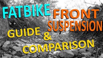 Fatbike Front Suspension   Guide & Comparison ~ Fatbike Republic