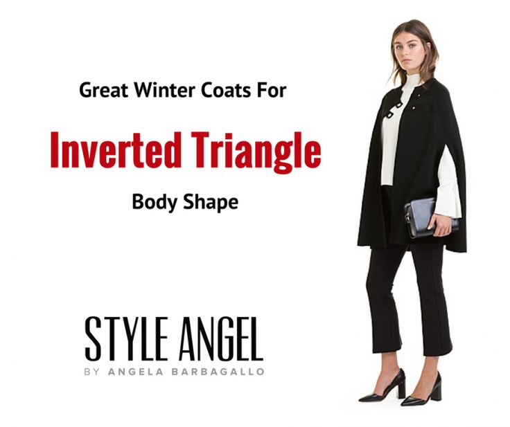 Inverted Triangle Body Shape Winter Coats