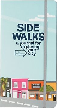 Sidewalks Journal is a perfect companion while exploring your own city! I just moved to Seattle and love this journal to jot down notes on things I see and do out here. Also it's great for writing down shopping and dining options you find as you walk around your own city!