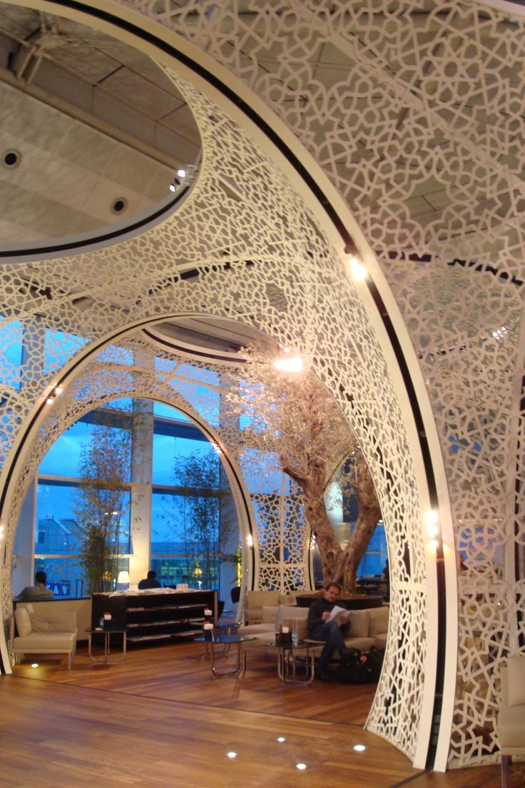 Absolutely gorgeous - The lounge in the Istanbul airport.