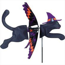 Halloween Black Cat Garden Wind Spinner. Available at OurPamperedHome.com