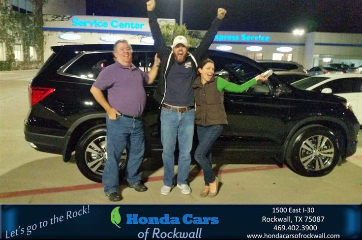 https://flic.kr/p/PrkxZc   Congratulations Bonnie on your #Honda #Pilot from KIM CARTER at Honda Cars of Rockwall!   deliverymaxx.com/DealerReviews.aspx?DealerCode=VSDF