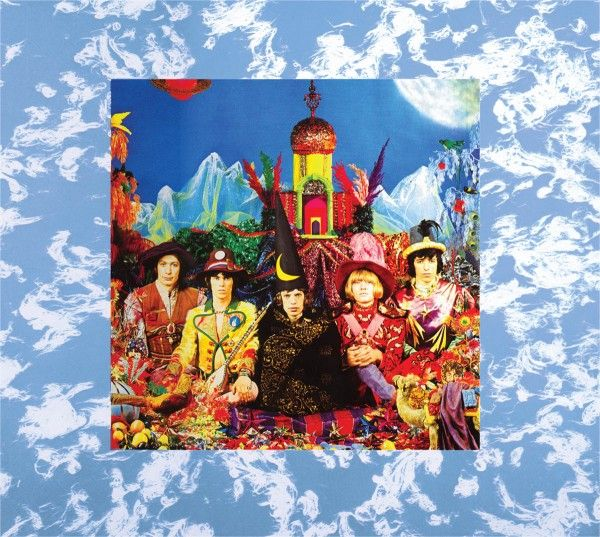 THEIR SATANIC MAJESTIES REQUEST RELEASED DECEMBER 1967 UK NO.3 CHARTED 13 WEEKS US NO.2 CHARTED 30 WEEKS. For the first time, the Rolling Stones were able to release an album with the same tracklisting across the world.