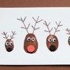 Cute Thumbprint Reindeer | AllFreeKidsCrafts.com