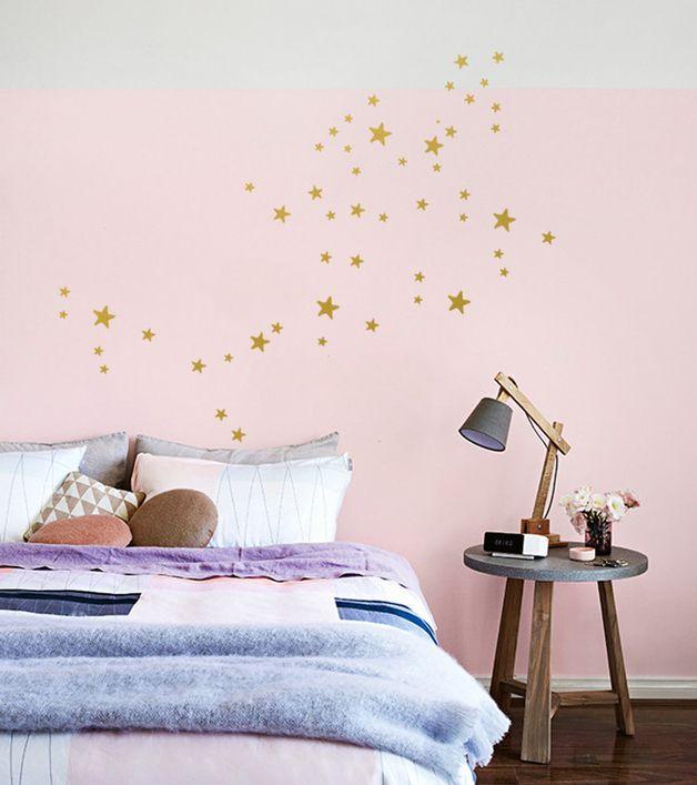 Die besten 25+ Wandtattoo sterne Ideen auf Pinterest Wandtattoo - babyzimmer sterne photo