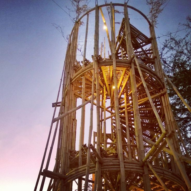 """The bamboo tower"" - Photos taken with Nokia Lumia 920 using Instagram app"