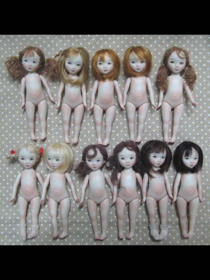 Sun Joo Lee dolls