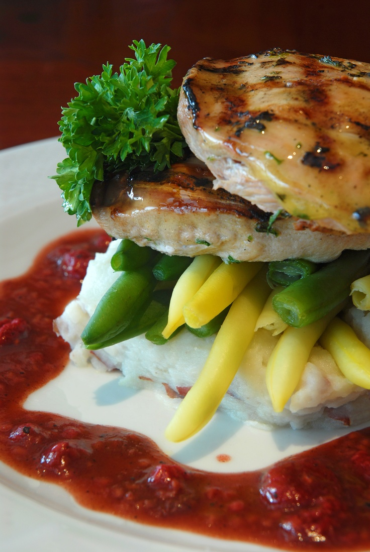 Fancy up your pheasant with a raspberry demi-glace - recipe from Hotel ...