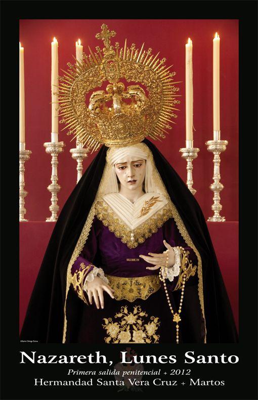 2012 Lunes Santo. Semana Santa. Hermandad de la Santa Vera Cruz. Martos [Spain].