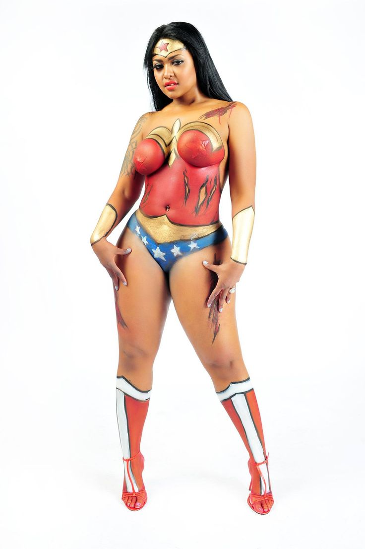 Dating divas chocolate body paint