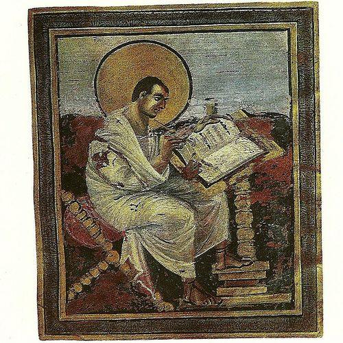 S. Mateus - Evangelho manuscrito - cerca de 800 dC