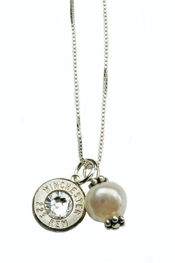 223 Thin Starline Nickel Bullet & Pearl
