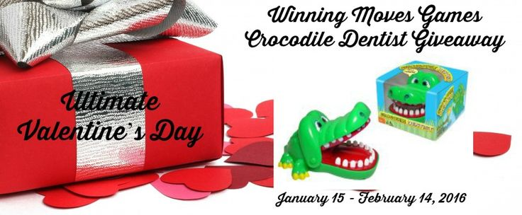 Come check out the Winning Moves Games Crocodile Dentist #giveaway on my blog! Enter daily! @las930 @winningmovesusa   Fabulous and Brunette: Winning Moves Games Crocodile Dentist Giveaway - E...