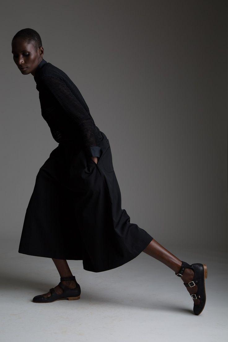 Vintage Yohji Yamamoto Gaucho Pant Designer Vintage Clothing Minimal Fashion