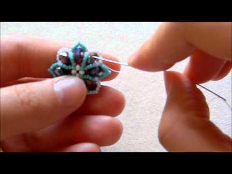 Tutorial Orecchini Fiorella (principianti) - YouTube
