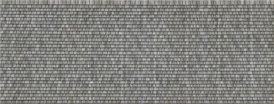 3 D Ho Scale Roof Shingles Gray Random Package Of 2