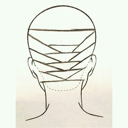 How to section balayage. Idea from the web.