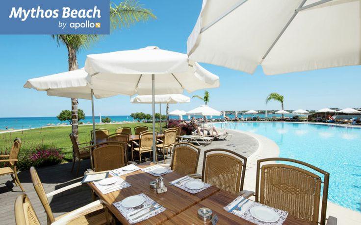 Velkommen til Apollos populære hotel Mythos Beach på Rhodos! Til sommer går vi all in med børneklub, svømmeskole og træningshold med skandinavisktalende personale. Se mere på http://www.apollorejser.dk/rejser/europa/graekenland/rhodos/afandou-og-kolymbia/hoteller/mythos-beach