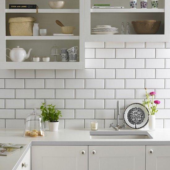Metro White tiles from Topps Tiles?! £23/ box £23pm.. white grout though!!