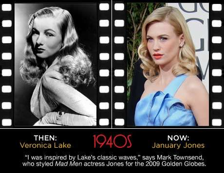 Old Hollywood Hairstyles - Today's Celebs Rock Classic Retro Hairdos (GALLERY)