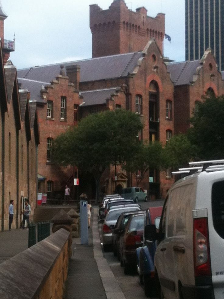 The Rocks in Sydney...some lovely buildings