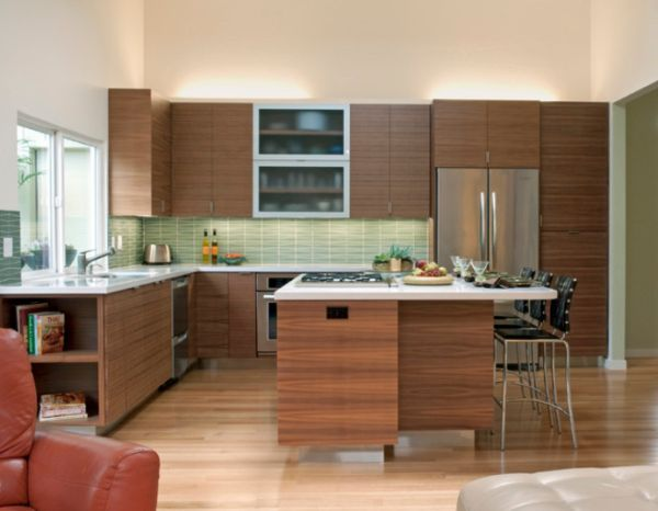 Simple Elegant Midcentury Modern Kitchen Interior Design Ideas With Midcentury  Modern Kitchen