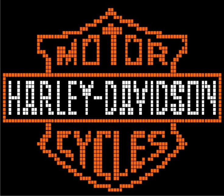 The product Harley Davidson Pillow - P3 is sold by Loopaghans Custom Crochet in our Tictail store.  Tictail lets you create a beautiful online store for free - tictail.com