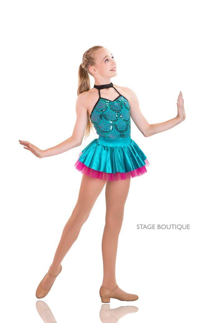 7e7c4edce1493 Dance Costume: Shout Jade Hot Pink Jazz Tap Dance Costume Set ...