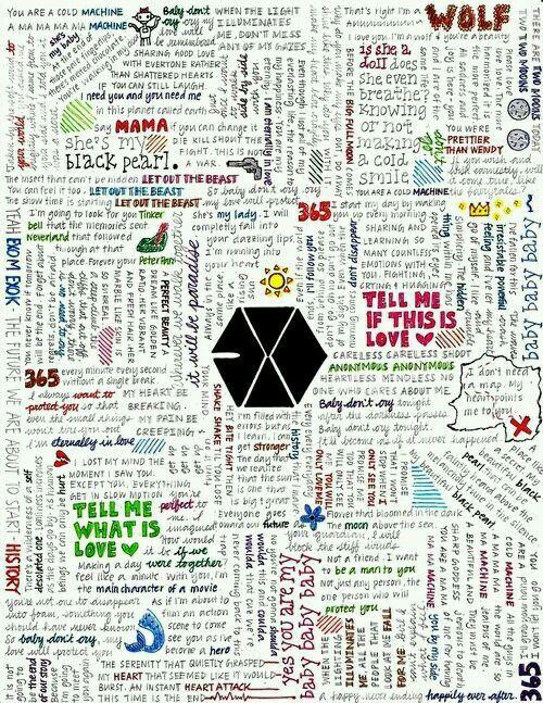 Exo lyrics.