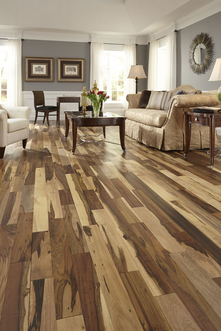 Love A Unique Floor Brazilian Pecan Has A Matte Finish