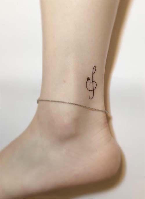 Coole 40 niedliche Knöcheltätowierungs-Ideen für Frauen, die inspiriert werden sollen – stilvolle Designs …   – Tattoo ideas for women
