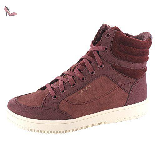 Elda Bootie, Sneakers Hautes Femme, Gris (Grey), 40 EUEsprit