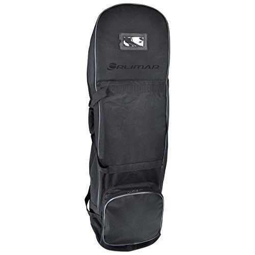Rolling Golf Bag and Club Travel Case w/ Padded Pull Handle, Shoe Pocket, New